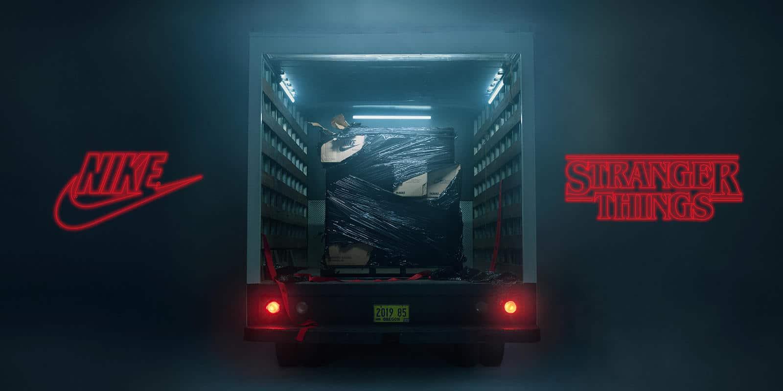 Nike sort un nouveau modèle 'Stranger Things' exclusif!