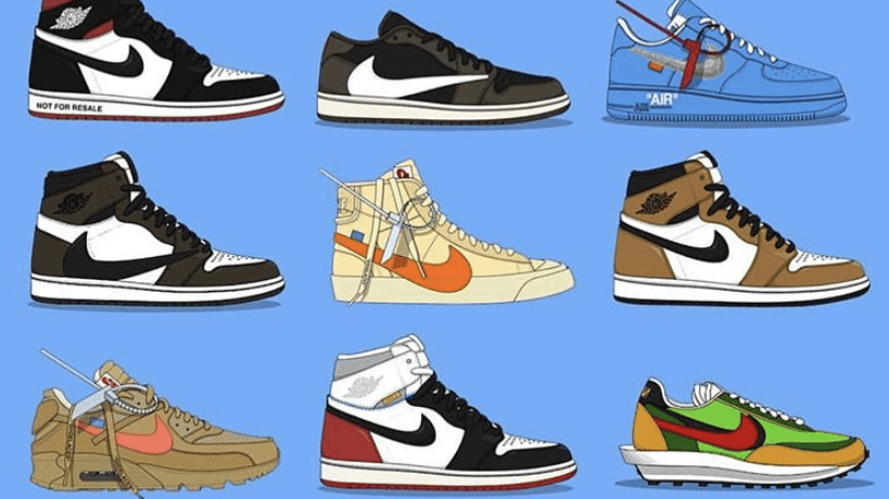Bilan : Les 10 sneakers les plus recherchées en 2019