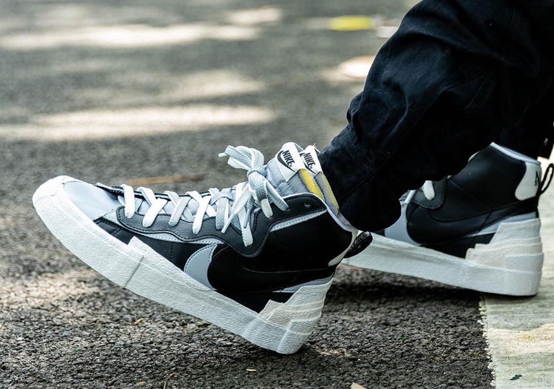 Raffle : Comment cop la Sacai x Nike Blazer Black ?   THE
