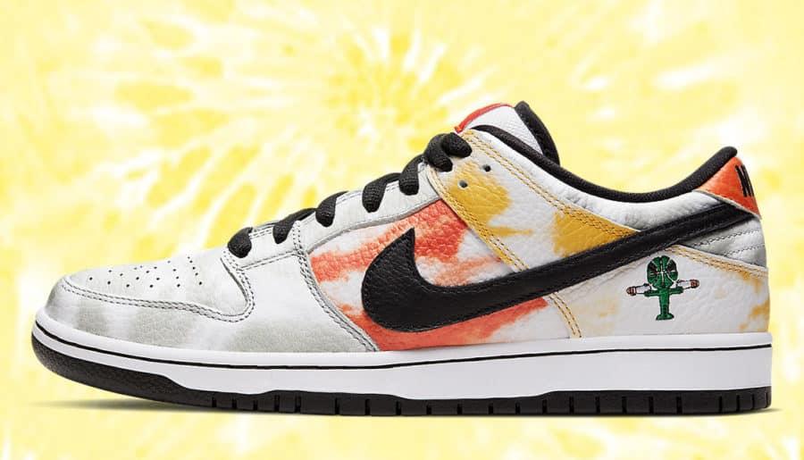 #Raffle : Comment cop la Nike SB Low Dunk Raygun Tie-Dye White ?