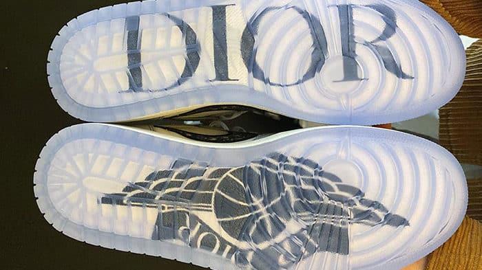 La Air Jordan 1 x Dior devrait également sortir en version low