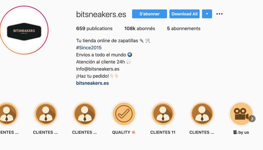 #Review Le site bitsneakers.es est il legit ?