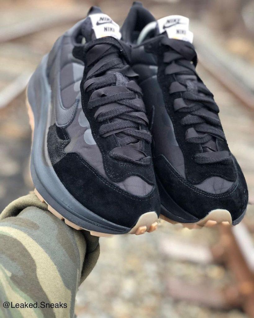 """Une nouvelle sacai x Nike VaporWaffle """"Off-Noir"""""""