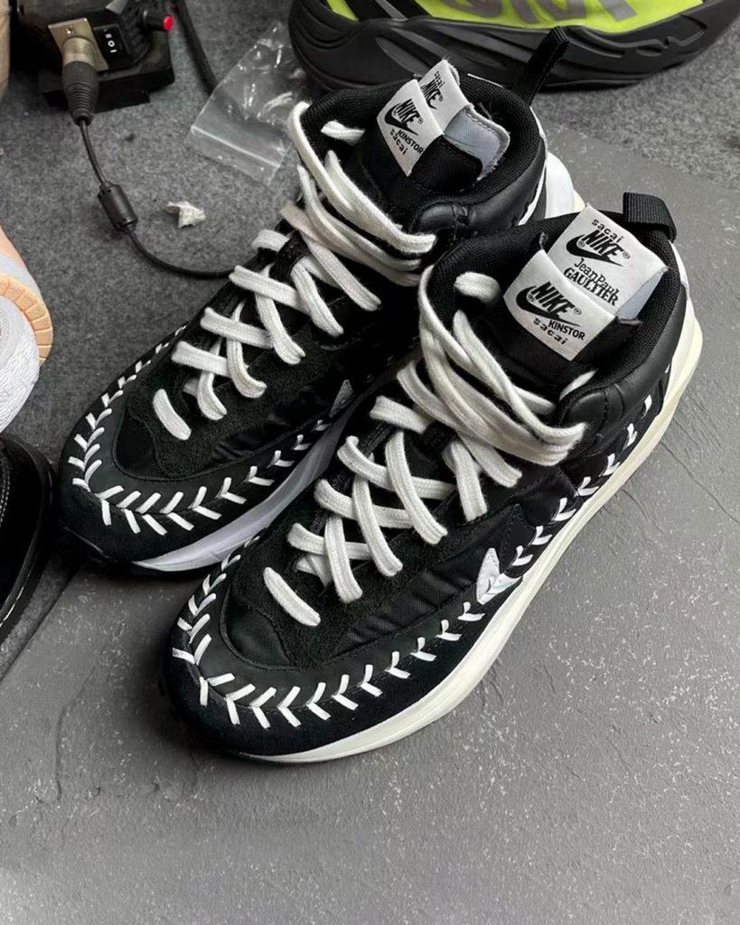 Jean Paul Gaultier x  Sacai x Nike LDWaffle