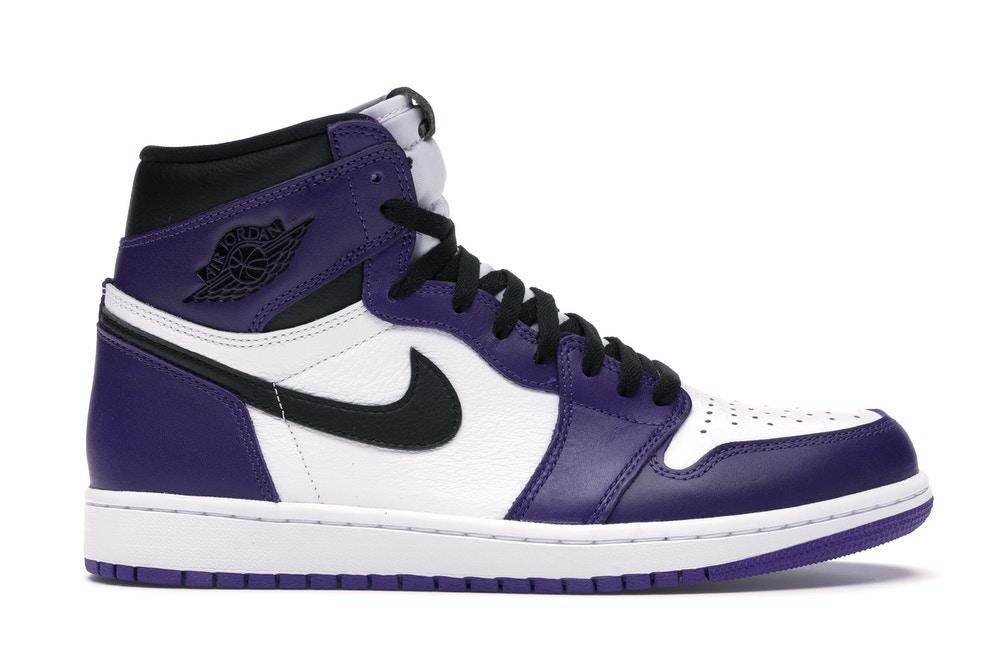 Air Jordan 1 Retro High Court Purple White