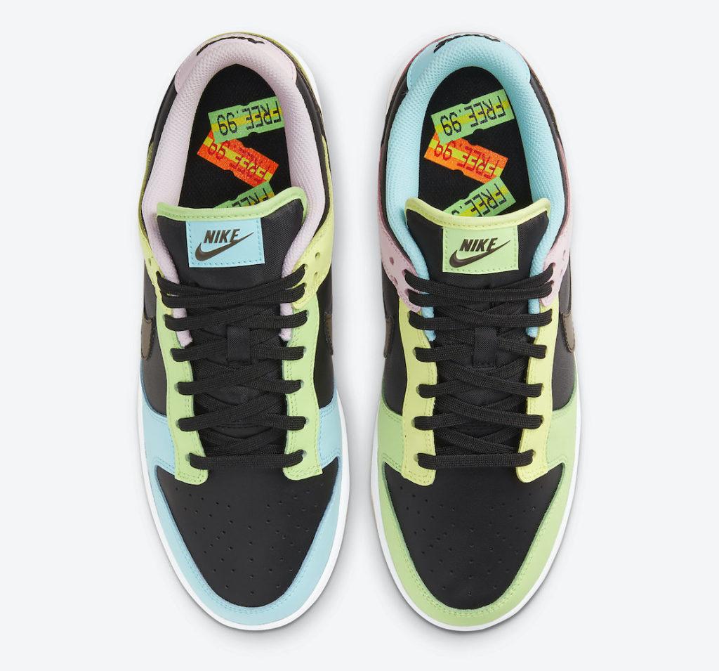 """Nike Dunk Low """"Black Free 99"""""""