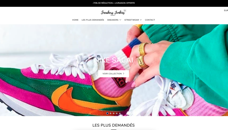 #Review : Le site sneakerjunkiesfr.com est t-il fake ou legit ?
