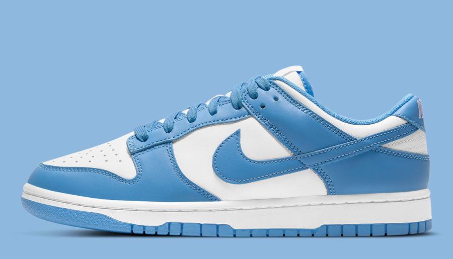 #Raffle : Comment cop les Nike Dunk Low « University Blue »  ?