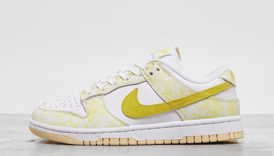 #Raffle : Comment cop les Nike Dunk Low « Yellow Strike »