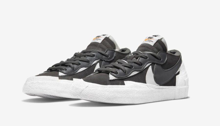 "#Release : Nike x Sacai Blazer Low ""Iron Grey"" & ""British Tan"""