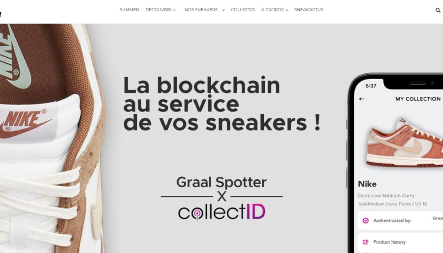 #Unboxing : On a testé Graal Spotter, la blockchain au service de la sneakers