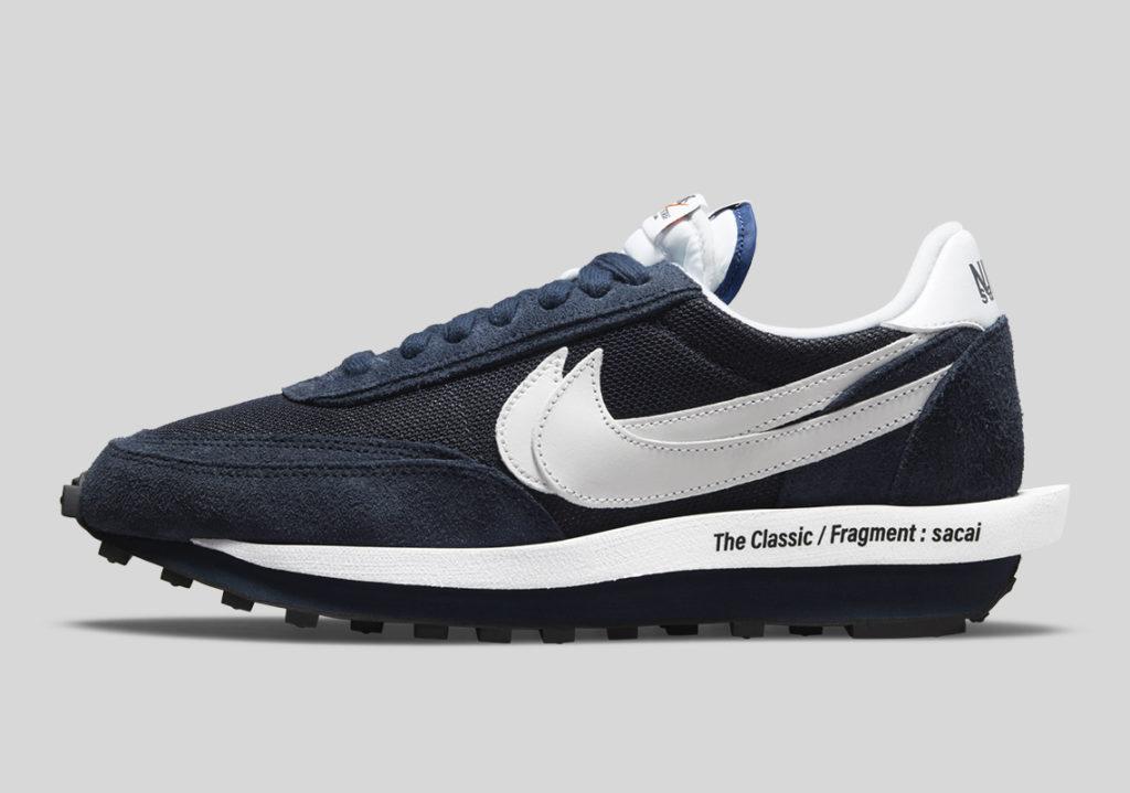 Sacai x Fragment Design x Nike LDWaffle Navy